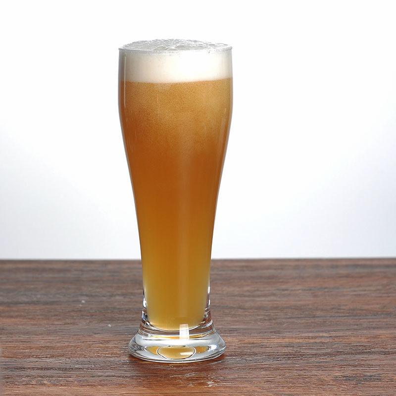 Transparent 21oz 600ml Tall Pilsner Glass For Pub